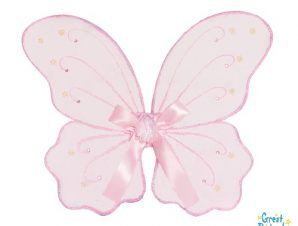 Φτερά Νεράϊδας ροζ με θήκη