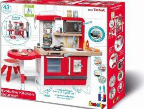 Smoby Ηλεκτρονική ΠΑΙΔΙΚΗ ΚΟΥΖΙΝΑ Tefal studio kitchen 312302