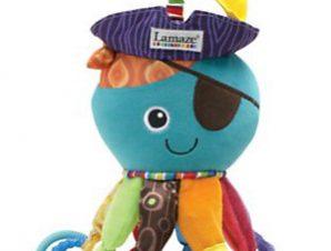 """Καλαμάρι με δραστηριότητες """"Captain Calamari"""" Lamaze LC27068"""