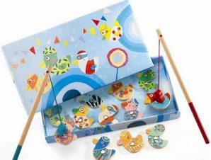 Djeco Παιχνίδι μαγνητικό ψάρεμα παπάκια