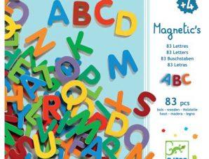 Djeco Μαγνητάκια λατινικά γράμματα μικρα 83 τεμ