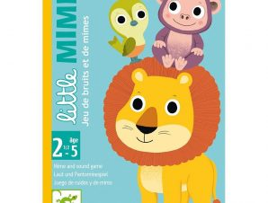 Djeco Επιτραπέζιο καρτών μίμησης – σειρά Little Ζωάκια
