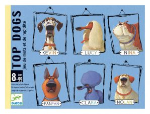 Djeco Επιτραπέζιο καρτών Top Dogs