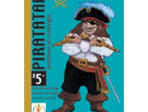 Djeco Επιτραπέζιο με κάρτες Πειρατικό καράβι