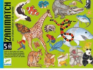 Djeco Επιτραπέζιο παρατηρητικότητας κάρτες ζωάκια