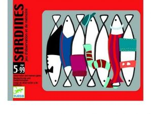Djeco Επιτραπέζιο με κάρτες Ψαράκια