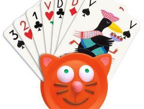 Djeco θήκη επιτραπέζιων καρτών γατούλα