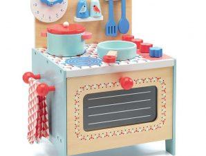 Djeco Ξύλινη Κουζίνα Μπλε