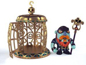 Djeco Arty Toys – Pirates Gnomus & Ze cage