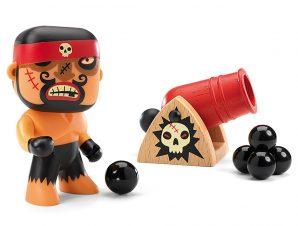Djeco Arty toys Φιγούρα Πειρατής Rick με κανόνι