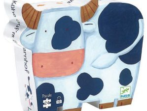 Djeco Πάζλ αγελαδίτσα στη φάρμα