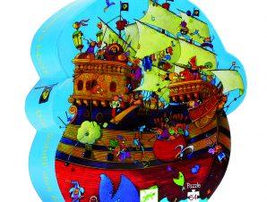 Djeco Πάζλ Πειρατικό καράβι