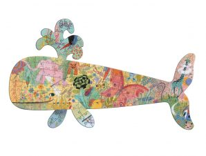 Djeco Παζλ Art 150 τεμ. Φάλαινα-FSC MIX