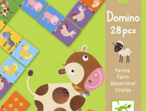 Djeco Ντόμινο μαθαίνω τα ζώα