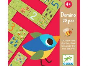 Djeco ντόμινο με εικόνες και αριθμούς