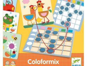 Djeco Colorformix εκπαιδευτικό παιχίδι Χρώματα και Σχήματα