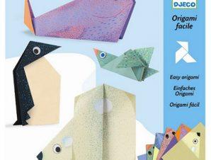 Djeco Κατασκευή οριγκάμι πολικά ζώα
