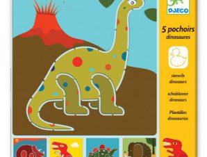 Djeco Στενσιλ Δεινόσαυροι