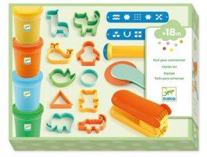 Djeco Σετ 4 Πλαστοζυμαράκια και 17 Εργαλεία