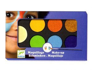 Djeco παλέτα μακιγιάζ 6 χρώματα Φυσικά