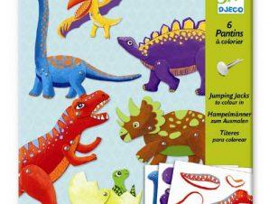 Djeco Κατασκευάζω μαριονέτες δεινόσαυροι
