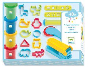 Djeco Σετ 4 Πλαστοζυμαράκια και 21 Εργαλεία