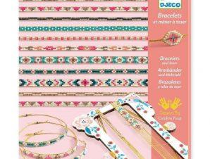 Djeco Κατασκευή κοσμημάτων – Βραχιόλια με μικρές χάντρες