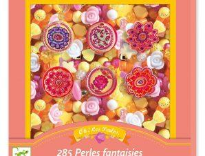 Djeco κατασκευή κοσμημάτων με διάφορες χάντρες Λουλούδια