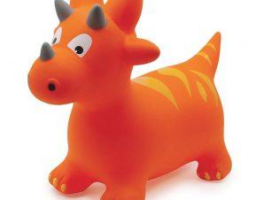 Ludi χοπ-χοπ δεινοσαυράκι πορτοκαλί