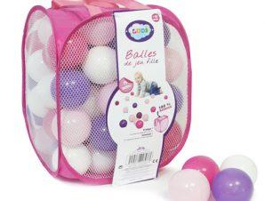 Ludi Δίχτυ ροζ με 75 μπαλάκια