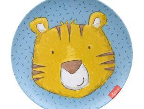 Sigikid Παιδικό πιάτο μελαμίνης Τίγρης