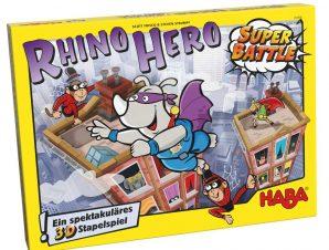 Haba Επιτραπέζιο Σούπερ-Ήρωας Ρινόκερος – Η Μεγάλη Μάχη