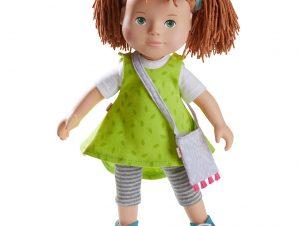 Χάμπα κούκλα με PVC πρόσωπο, άκρα και μαλακό σώμα Milou 32εκ.