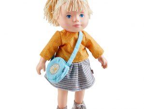 Χάμπα κούκλα με PVC πρόσωπο, άκρα και μαλακό σώμα Svenja 32εκ.