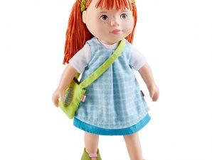 Χάμπα κούκλα με PVC πρόσωπο, άκρα και μαλακό σώμα Zora 32εκ.