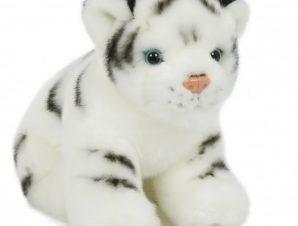 Semo Λούτρινο τιγράκι λευκό 23εκ.