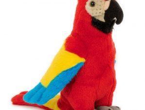Semo Λούτρινο Παπαγάλος, κόκκινος 20εκ.