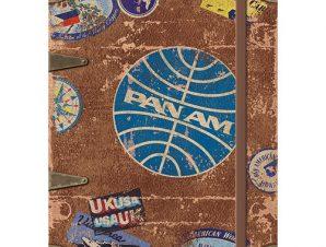Nostalgic Σημειωματάριο Pan Am – Travel Stickers
