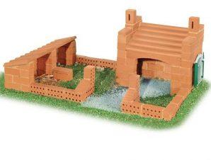 Teifoc Κατασκευή-χτίσιμο με πραγματικά τουβλάκια