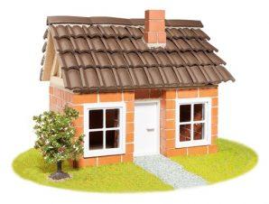 Teifoc Κεραμικά χτίζω σπίτι με ξυλινο πλαισιο στεγης