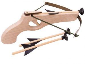 Βαλίστρα ξύλινη με 3 βελάκια