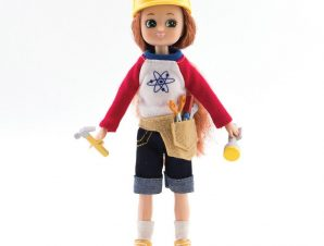 Lottie Κούκλα βινυλίου Εξερευνήτρια 18εκ.