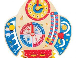 Svoora Ξύλινο Ημερολόγιο Εκμάθησης Διάστημα