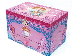 Svoora Μουσικό κουτί μπιζουτιέρα με συρτάρι Chloe