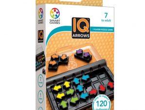 Smartgames επιτραπέζιο-σπαζοκεφαλιά IQ Arrows 120 challenges