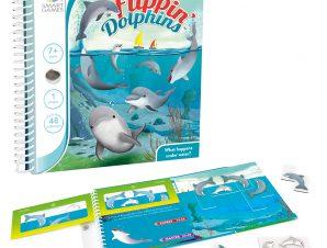 Smartgames επιτραπέζιο μαγνητικό Flippin Dolphins (48 challenges)