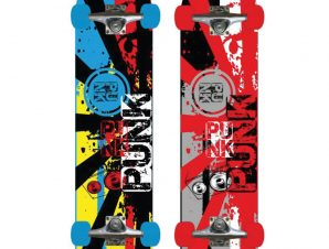Sport1 Skateboard PUNK 76 cm Max 100kg