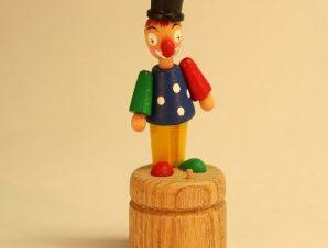 Ανέμη Αυθεντική ξύλινη δακτυλομαριονέτα μαγνητικό καπέλο