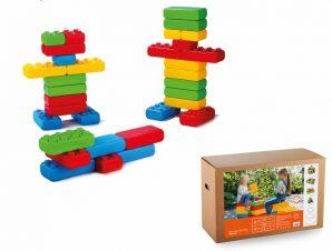 marioinex Τουβλάκια – κατασκευές γίγας παιδότοπου, δημιουργική απασχόληση 33 τμχ.