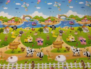 EPE Playmat Παιδικο Χαλι Φαρμα – Βυθός 180cmX230cm 1cm